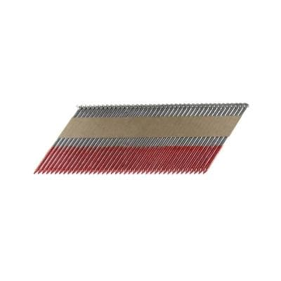 3-1/2 in. x 0.131 Paper Tape Collated HD Galvanized Smooth Shank Framing Nails (500 per Box)