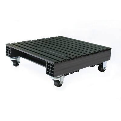 Jifram Custom Built Plastic Pallets 24 in. x 24 in. Storage Caddy Garage Shelving Unit