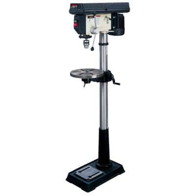 3/4 HP 16.5 in. Floor Standing Drill Press with Worklight, 16-Speed, 115/230-Volt, JDP-17MF
