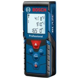 BLAZE 165 ft. Laser Distance Tape Measuring Tool with Area and Volume
