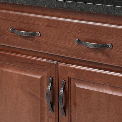 Nature's Splendor 3 in (76 mm) Center-to-Center Oil-Rubbed Bronze Cabinet Drawer Pull
