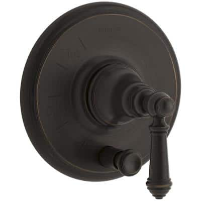 Artifacts Lever 1-Handle Rite-Temp Pressure Balancing Valve Trim Kit in Oil-Rubbed Bronze (Valve Not Included)