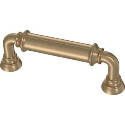 Bar 3 in. (76 mm) Champagne Bronze Drawer Pull
