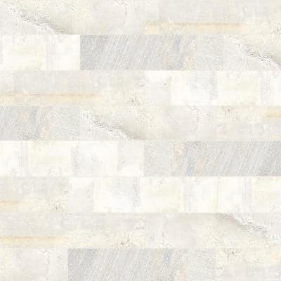 Brickbold Almond 3 in. x 13 in. Glazed Porcelain Floor and Wall Tile (13.35 sq. ft. / case)