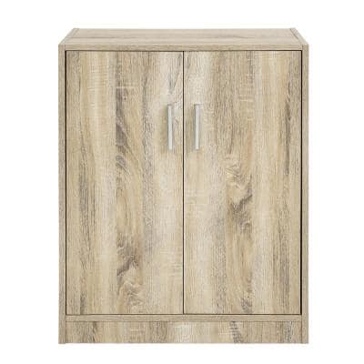 Melvin Shoes Storage Cabinet 4-Tiers 2-Doors