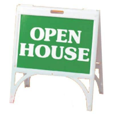 24 in. x 18 in. Plastic Quick Sign Fast Changing Sign Holder