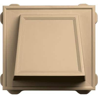6 in. Hooded Siding Vent #045-Sandstone Maple