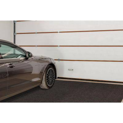 8 ft. 2 in. L x 7 ft. 2 in. W Garage Floor Mat Brown Polypropylene Protective Carpet Mat