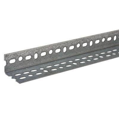 2-1/4 in. x 1-1/2 in. x 48 in. Zinc-Plated Offset Slotted Angle
