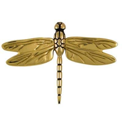 Brass Dragonfly Door Knocker