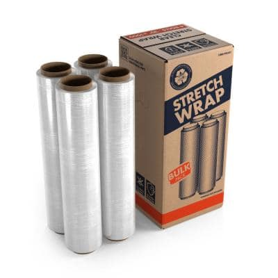 20 in. x 1000 ft. Clear Stretch Wrap (4 Pack)
