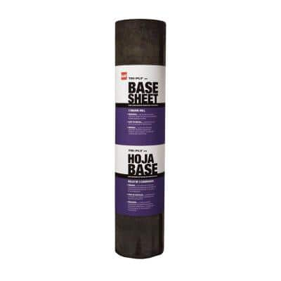 Tri-Ply #75 Base Sheet 3 ft. x 98 ft. (300 sq. ft.net) Membrane Roll for Low Slope Roofs