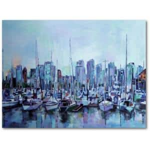 Harbour Views 30 in. x 40 in. Gallery-Wrapped Canvas Wall Art