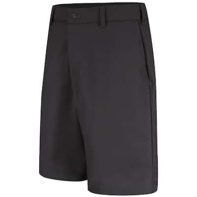 Men's Size 28 in. x 12 in. Black Cell Phone Pocket Short