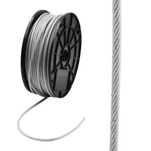 3/16 in. x 250 ft. Galvanized Steel Uncoated Wire Rope