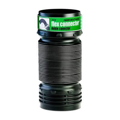 4 in. x 21 in. Polypropylene Flexible Elbow/Connector