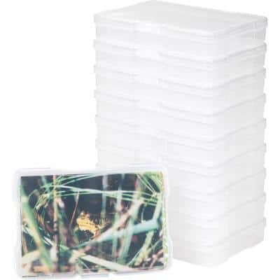 4 in. x 6 in. Photo Storage and Embellishment Craft in Clear (9 Pack)