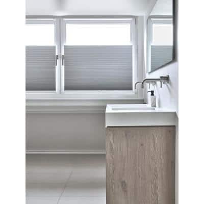 Cut-to-Size White Cordless Blackout Fabric 3/4 in. Cellular Shade 28.5 in. W x 72 in. L