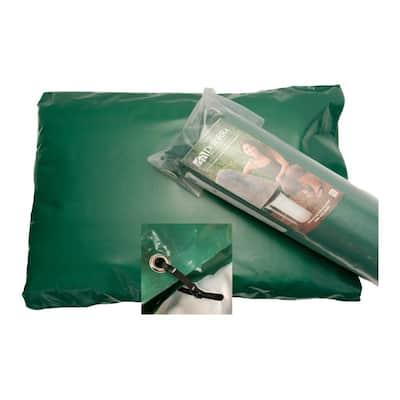 34 in. L x 24 in. H Medium Fiberglass Encapsulated Green Plastic Insulation Pouch