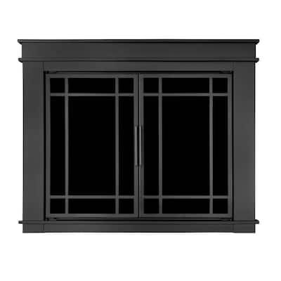 Fillmore Small Glass Fireplace Doors