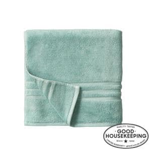 Turkish Cotton Ultra Soft Bath Towel in Aqua