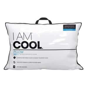 Sealy Evercool Cooling Hypoallergenic Down Alternative King Pillow 54574atc The Home Depot