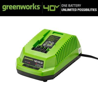 GMAX 40-Volt Lithium-Ion Battery Charger