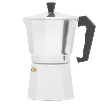 6-Cup Aluminum Stovetop Espresso Machine