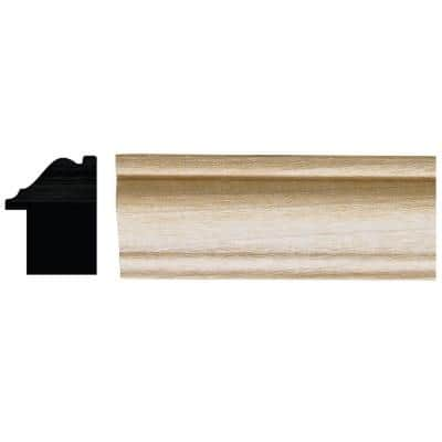 1-1/16 in. x 1-3/8 in. x 96 in. White Hardwood Colonial Backband Moulding