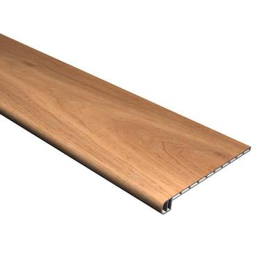 Vinyl Pro with Mute Step South Seas Oak 1 in. T x 11-1/2 in. W x 48-3/8 in. L Vinyl Stair Tread