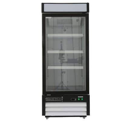 X-Series 12 cu. ft. Single Door Merchandiser Refrigerator in White