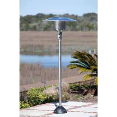 45,000 BTU Stainless Steel Natural Gas Patio Heater