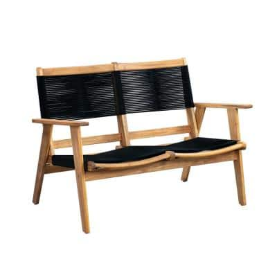 Modern 47 in. Wood Sofa Bench
