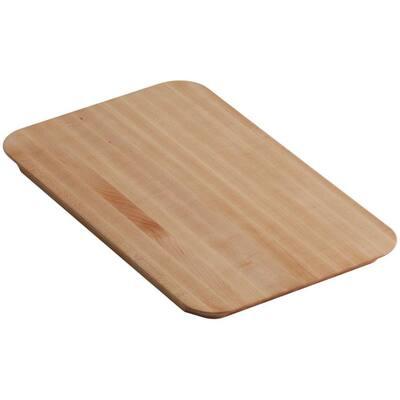 Riverby 10.5 in. x 17.375 in. Cutting Board in Maple Wood