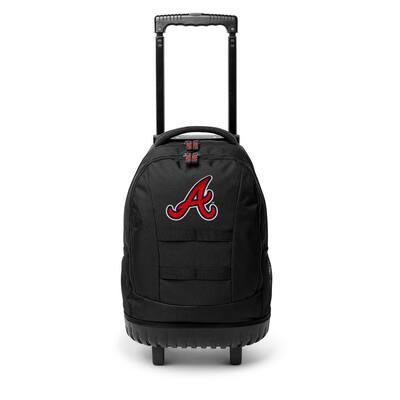 23 in. Atlanta Braves Wheeled Tool Backpack