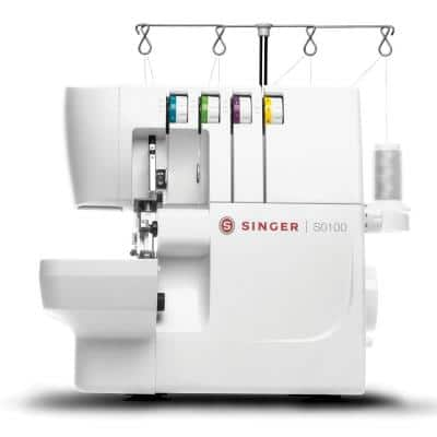 S0100 Overlock Serger Sewing Machine with Free Arm