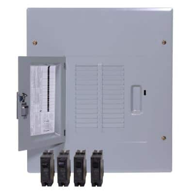 PowerMark Plus 125 Amp 14-Space 24-Circuit Indoor Main Lug Value Kit Includes Select Circuit Breaker