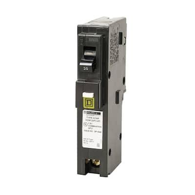 Homeline 20 Amp Single-Pole Plug-On Neutral Combination Arc Fault Circuit Breaker (12-pack)