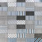 Barbados Decor Cold 5 in. x 10 in. 9 mm Polished Ceramic Wall Tile (30 pieces / 9.9 sq. ft. / box)