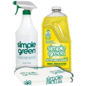 Lemon Scent 67.6 oz. Daily Cleaning Kit