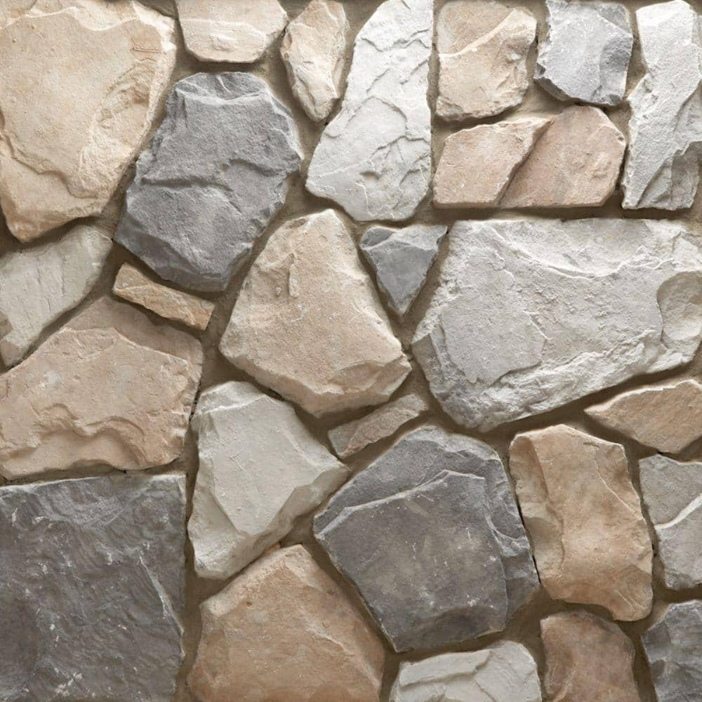 Veneerstone Field Stone Gainsboro Corners 10 Lin Ft Handy Pack Manufactured Stone 97386 The Home Depot