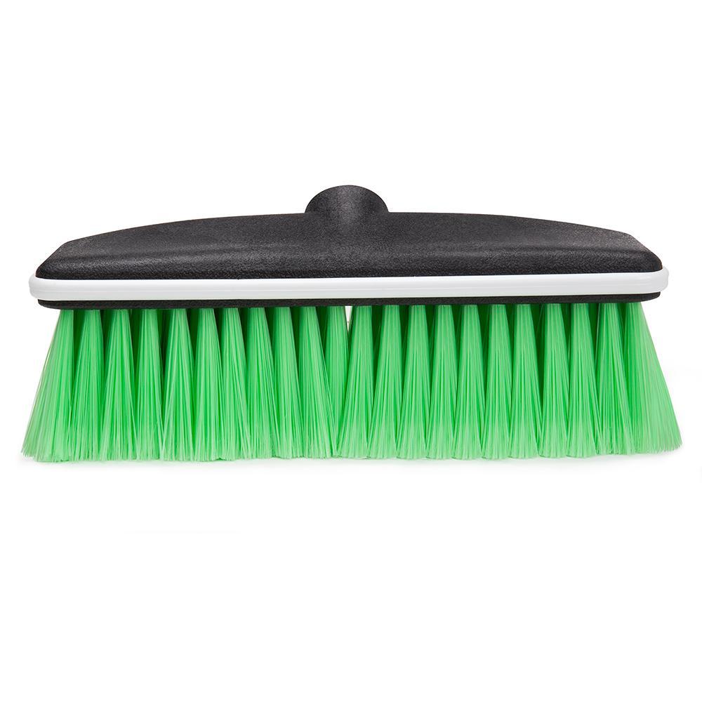 10 in. Nylon Bumpered Wash Brush Head