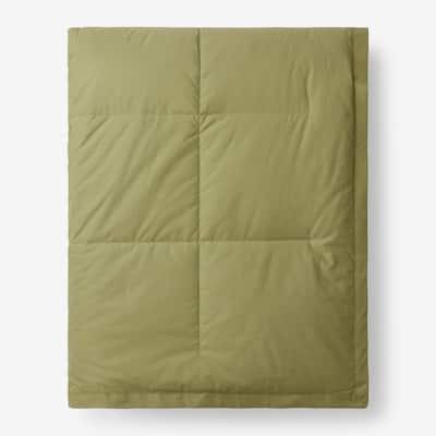 LaCrosse LoftAIRE Down Alternative Fern Green Cotton Twin Blanket
