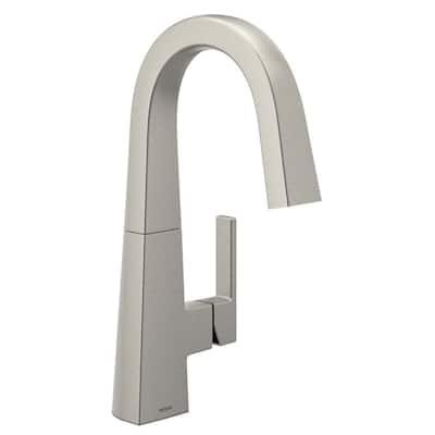 Nio Single-Handle Bar Faucet in Spot Resist Stainless Steel
