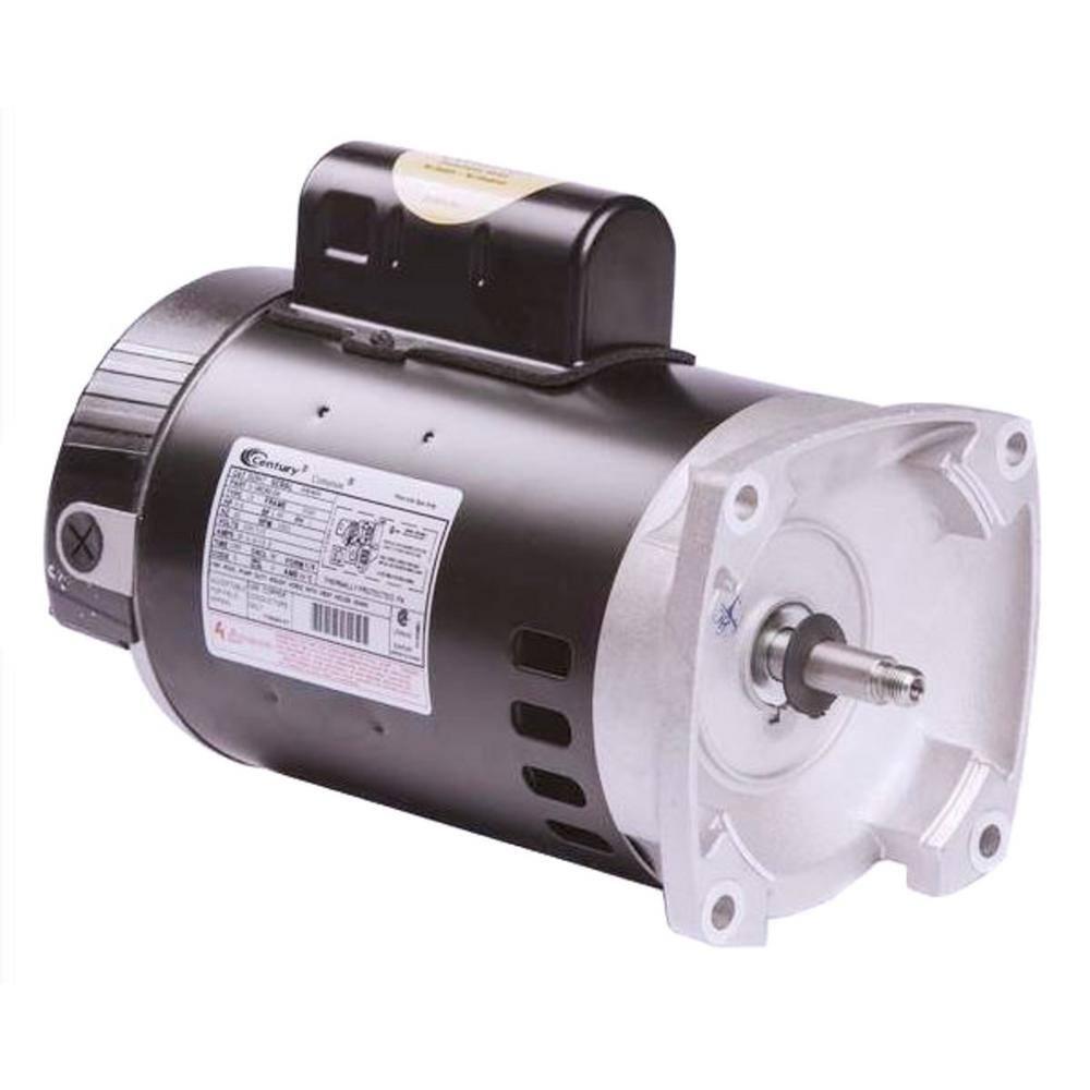 Regal Beloit Full Rate 3 4 Hp 3450rpm Single Speed Pool Pump Motor B2847 The Home Depot