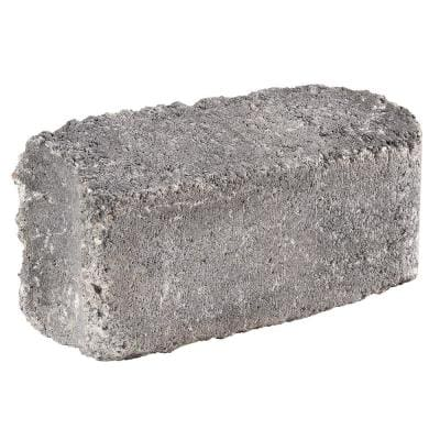 RumbleStone 10.5 in. x 3.5 in. x 5.25 in. Greystone Concrete Edger (144 Pcs. / 125 Lin. ft. / Pallet)