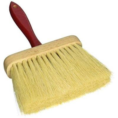 6-1/2 in. x 2 in. Jumbo Utility Brush with Tampico Fiber Bristles and Red Wood Handle