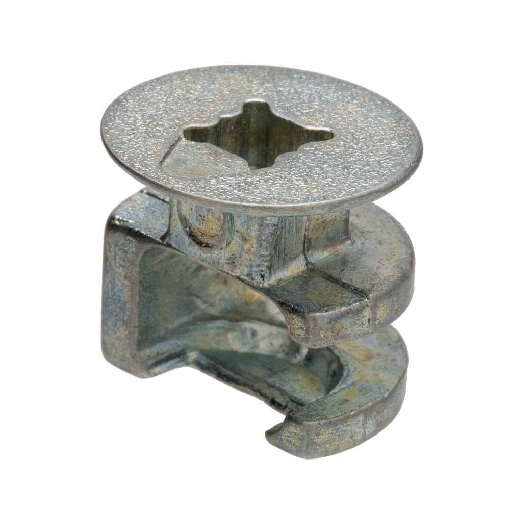 Everbilt 15 mm x 12.5 mm Cam Connector Zinc