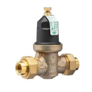 1/2 in. No Lead Pressure Reducing Valve with Double Union