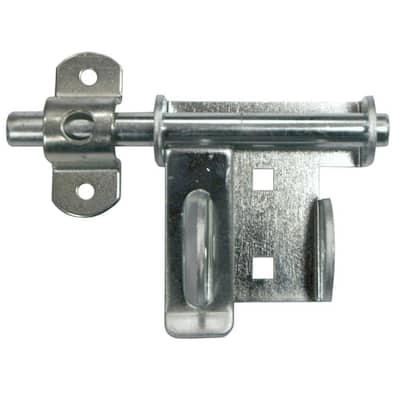 Q4-2P Heavy-Duty Garage Door Security Slide-Bolt Lock